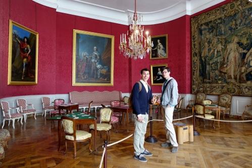 Chambord Chateau Card Room