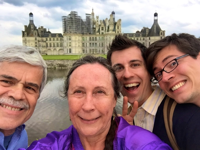 Chateau de Chambord Selfie