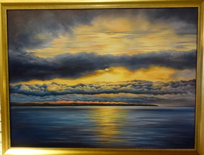 Day Break on Lake Huron by Randy Brewer at ArtFeast