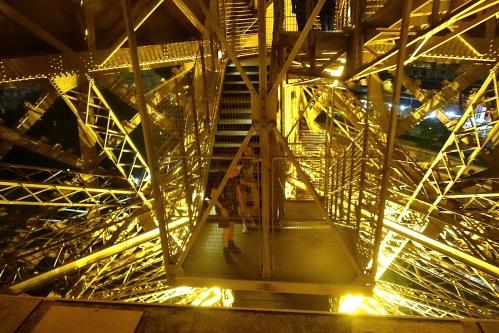 Descending the Eiffel Tower 2