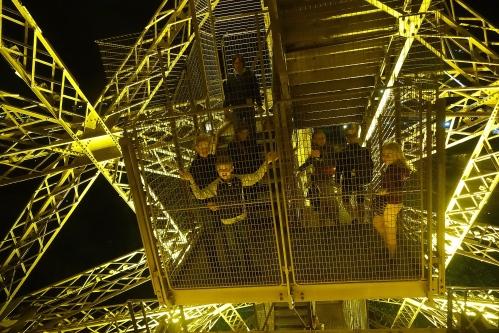 Descending the Eiffel Tower 3