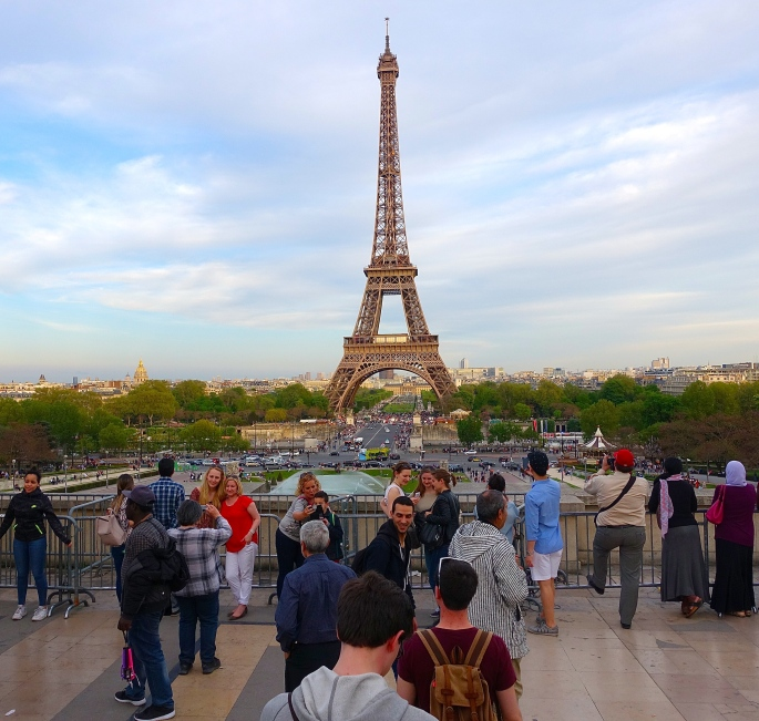 Eiffel Tower #1 Paid-to-ascend Monument