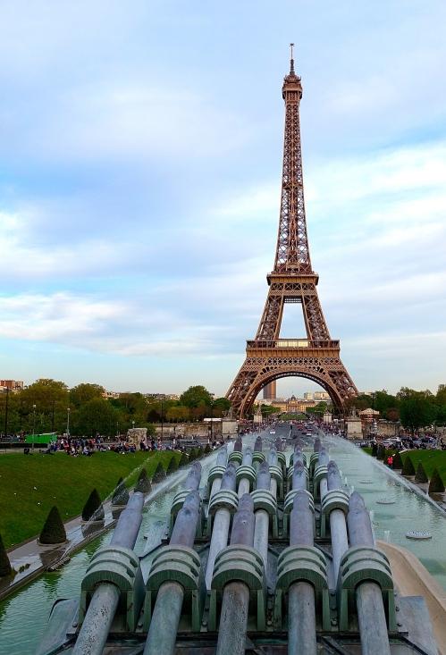 Eiffel Tower as seen from Jardins du Trocadéro 1