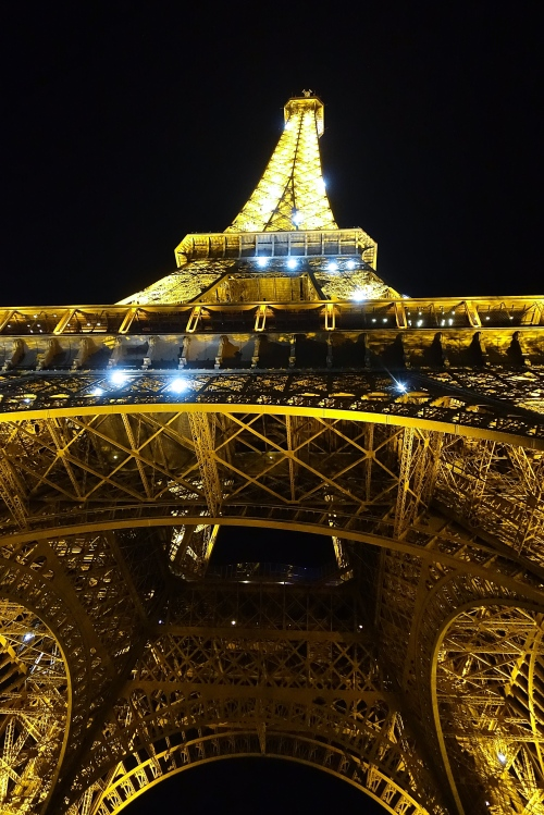 Eiffel Tower at Night 3