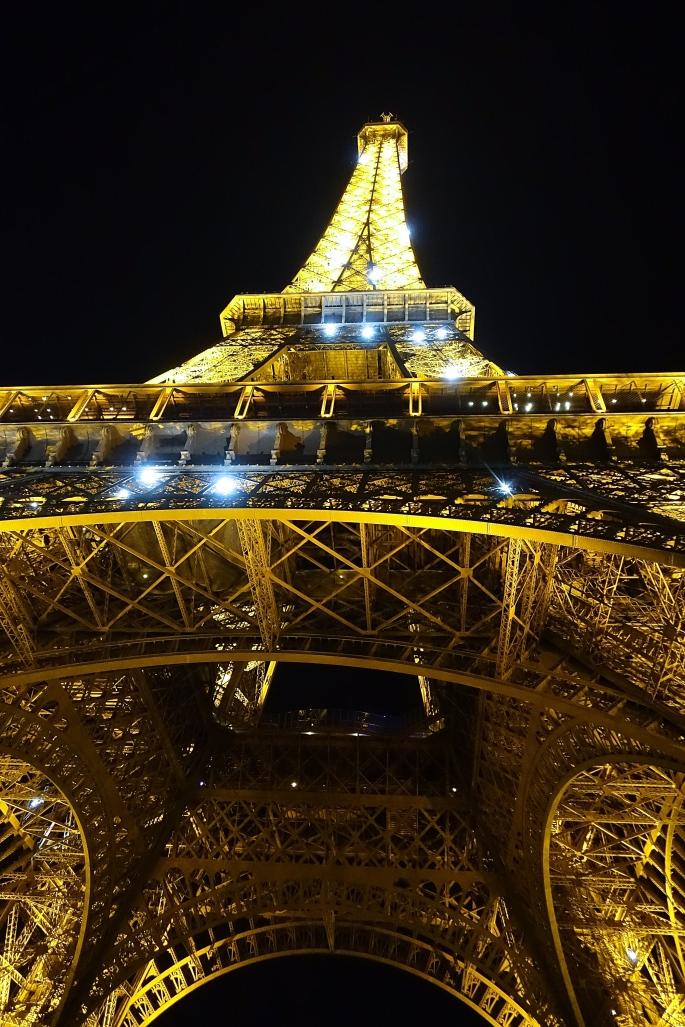 Eiffel Tower at Night 3