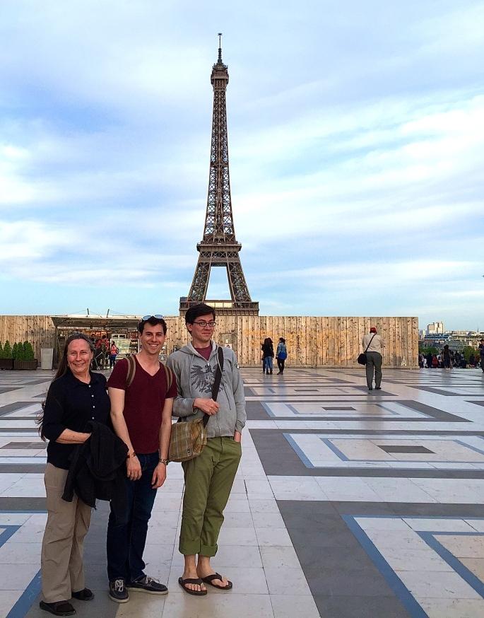 Eiffel Tower from Palais de Chaillot