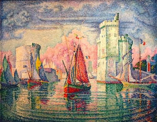 Entree du port de la Rochelle. Paul Signac