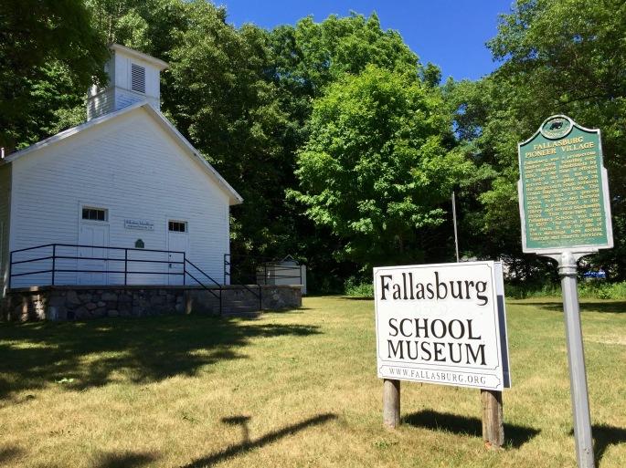 Fallasburg School Museum. MI