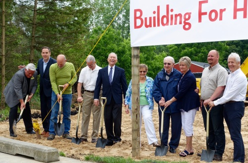 Ground-breaking at David's House Ministries
