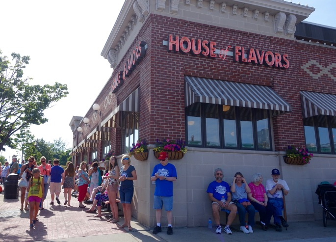 House of Flavors at Ludington's World's Largest Sundae Attempt