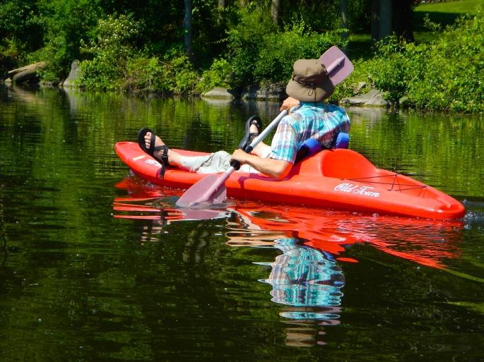 Kayaking on the Rogue River MI 3