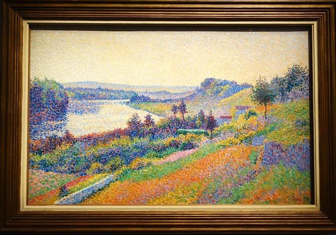 La Seine a Herblay. Maximilien Luce