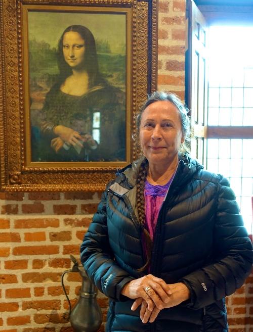 Mona Lisa at Close Luce with Kathi