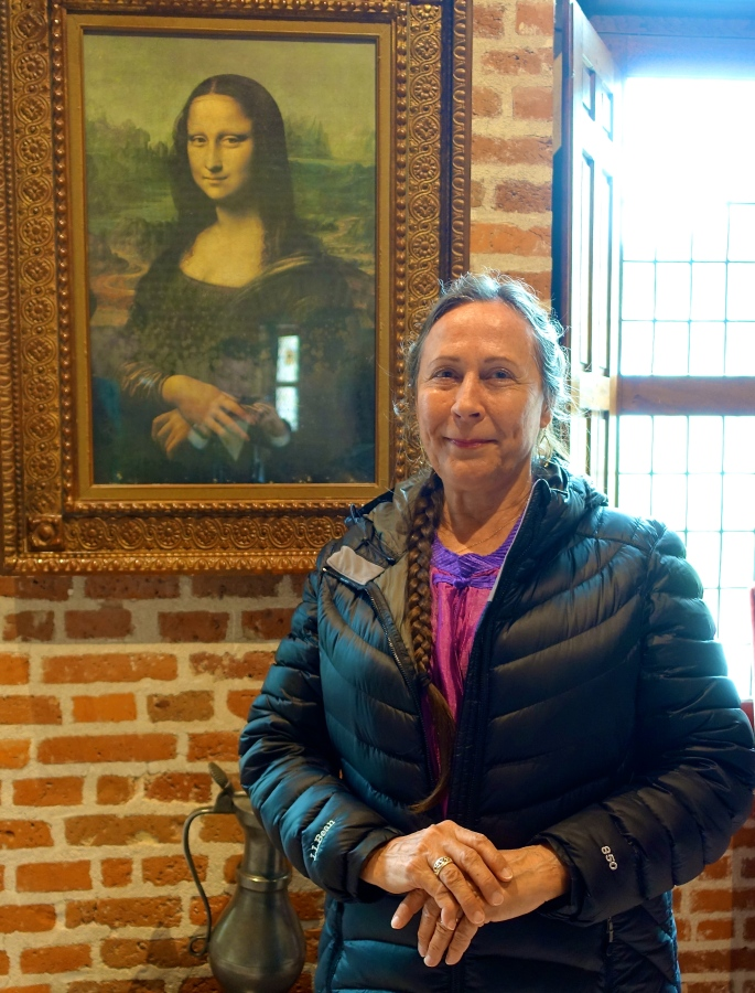 Mona Lisa at Close Luce with Kathi