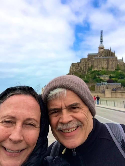 Mt. Saint Michel Alan and Kathi