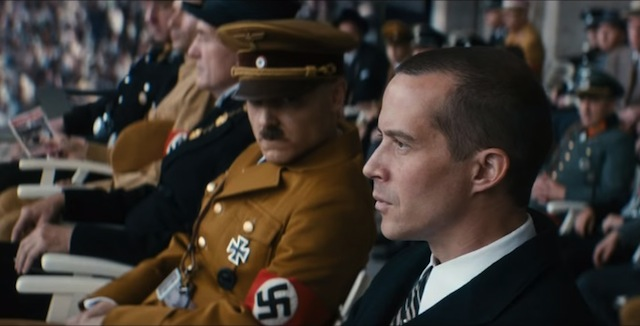 Nazis uncomfortable duirng 1936 Olympics. The Race