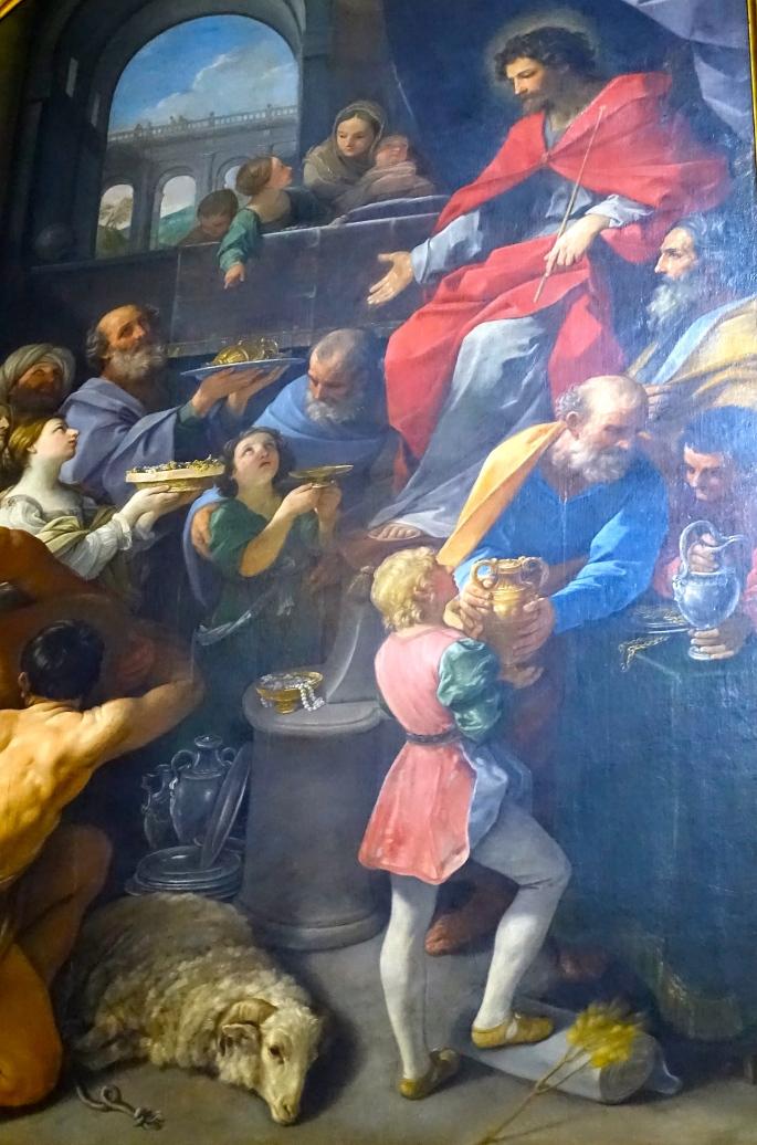 Oil Painting in Notre Dame. Paris
