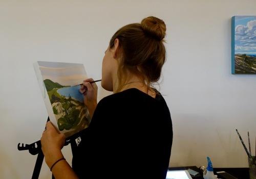 Painter at ArtFeast