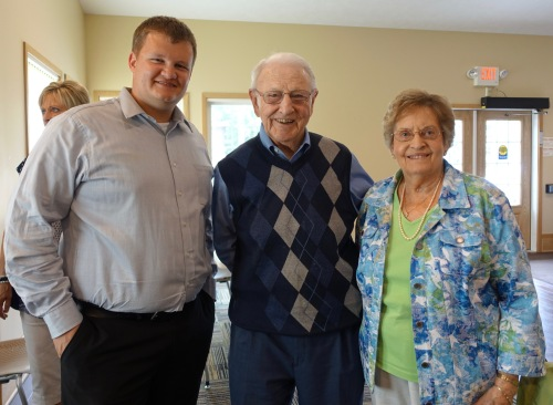 Paul with David's parents at David's House Ministries