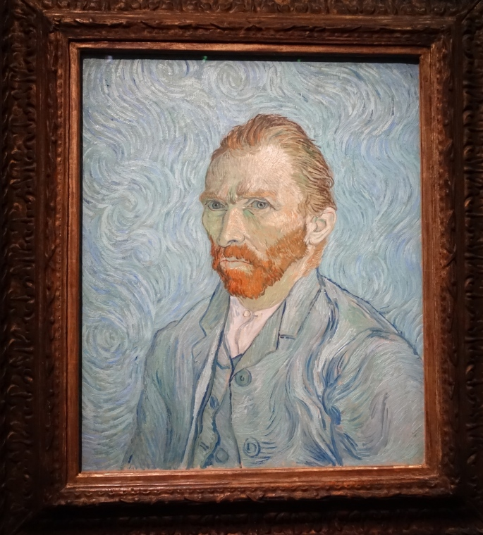 Portrait de l'artiste. Vincent Van Gogh. 1889