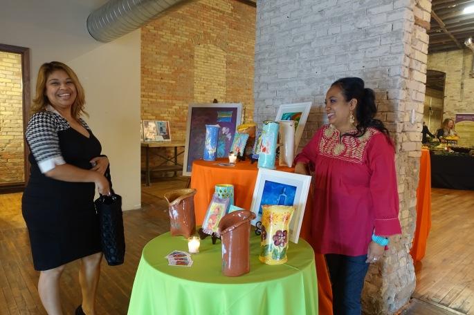 Reyna Garcia at ArtFeast
