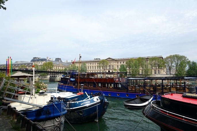 River Seine Boats