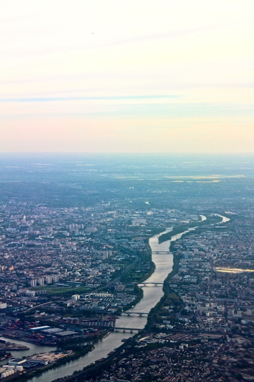 River Seine wide and deep
