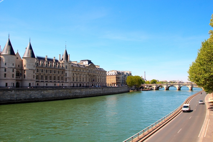 Road along The Seine River
