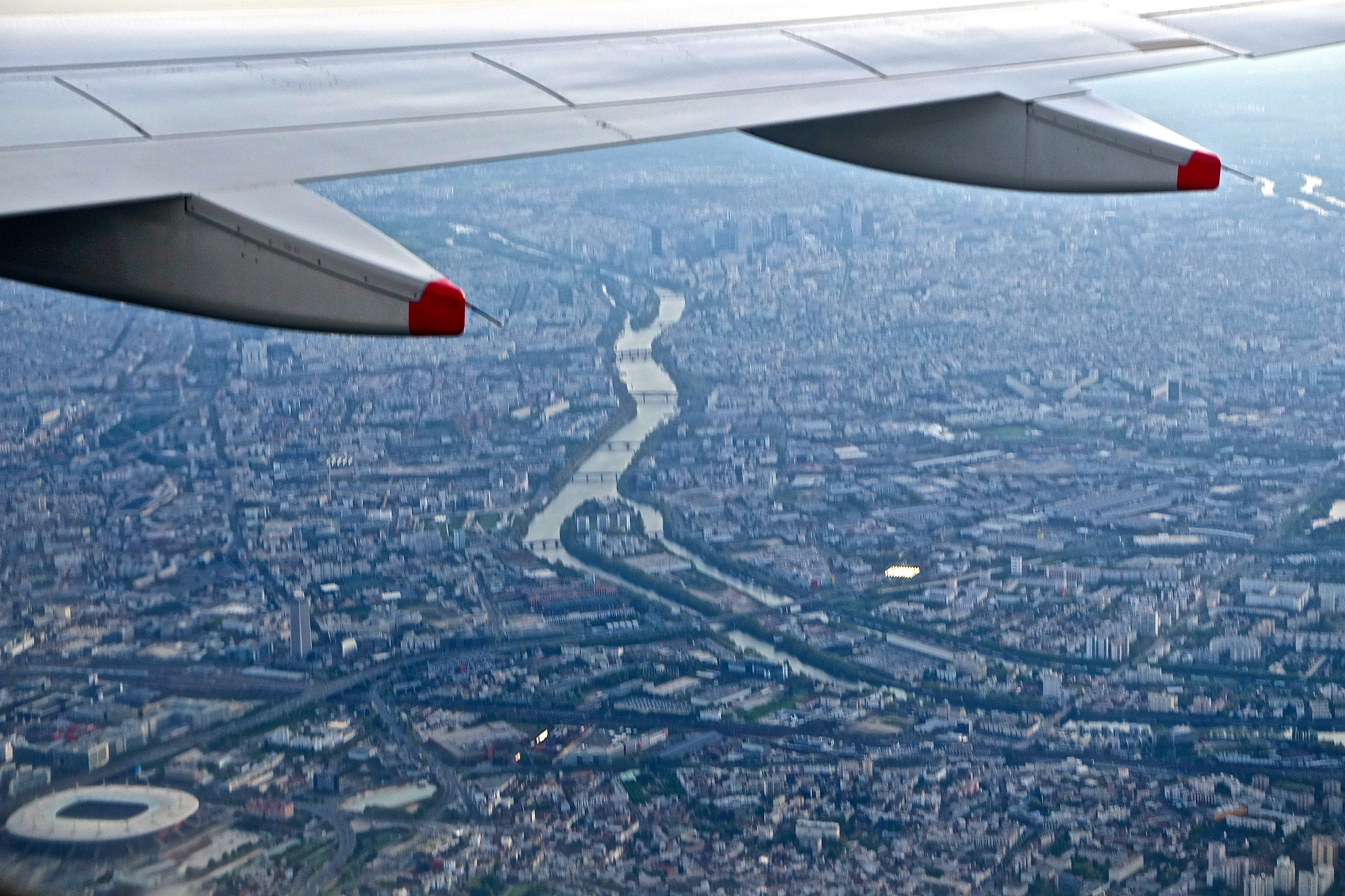 Seine as seen from the air