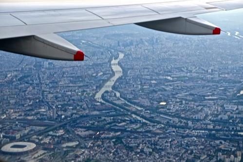 Seine as seen from the air