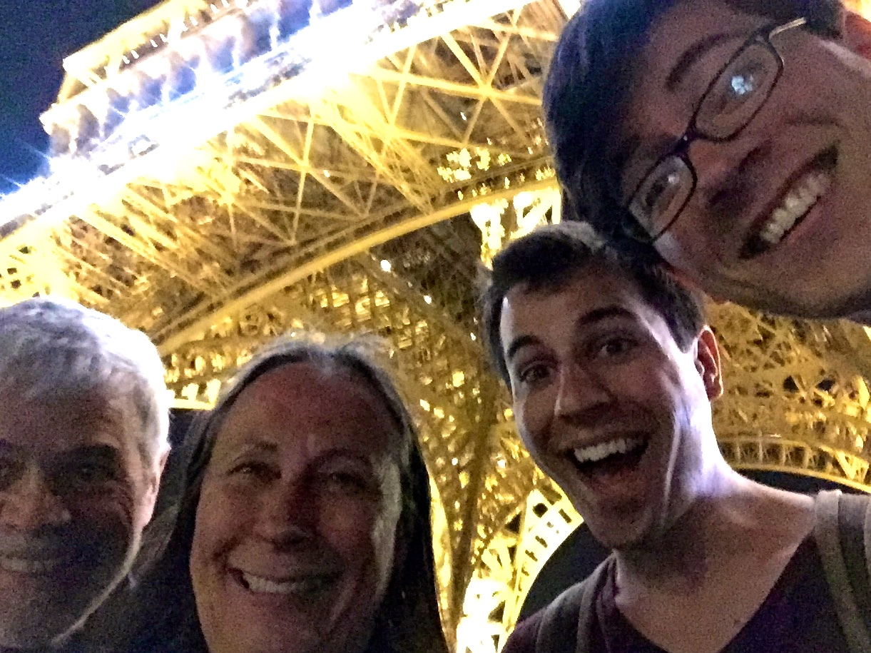 Selfie at Eiffel Tower