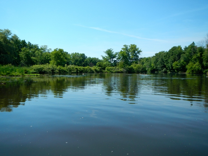 Some parts of river are deeper on the Rogue River MI