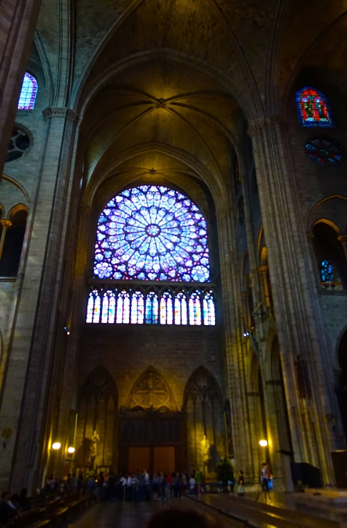 South Rose Window Notre Dame Cathedral
