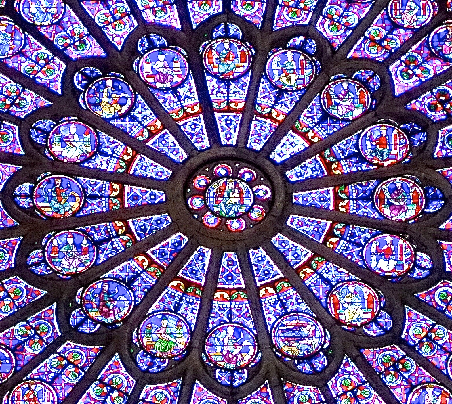 Image result for notre dame paris rose window