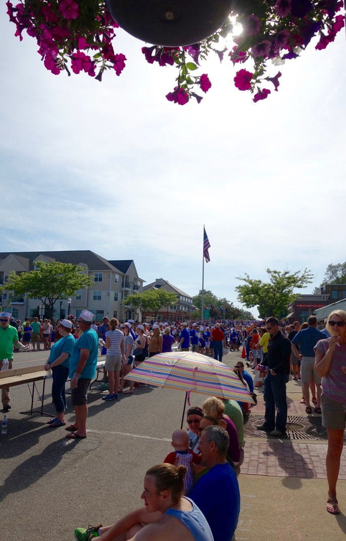 Sunshine at Ludington's World's Largest Sundae Attempt