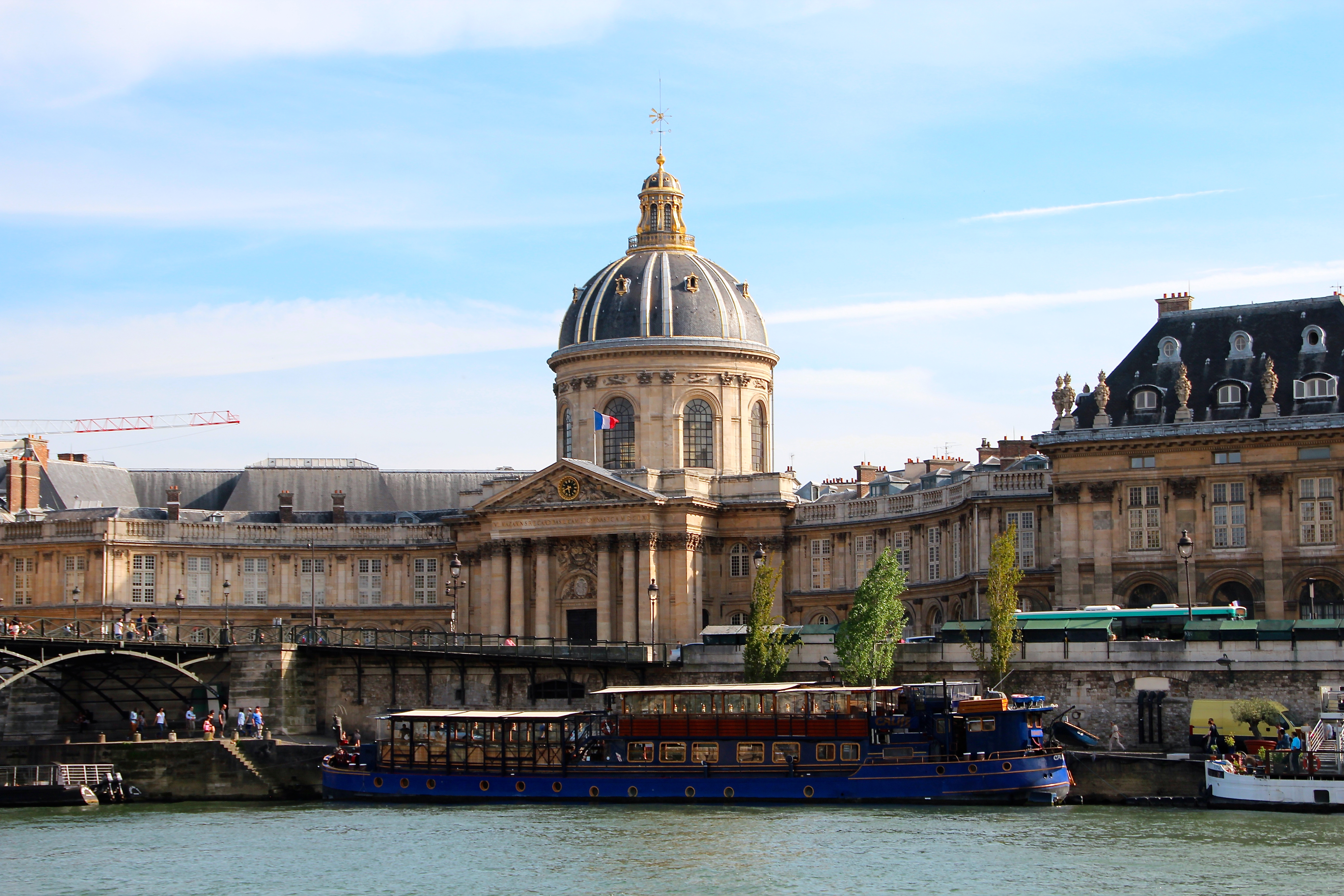 The Pantheon along the River Seine