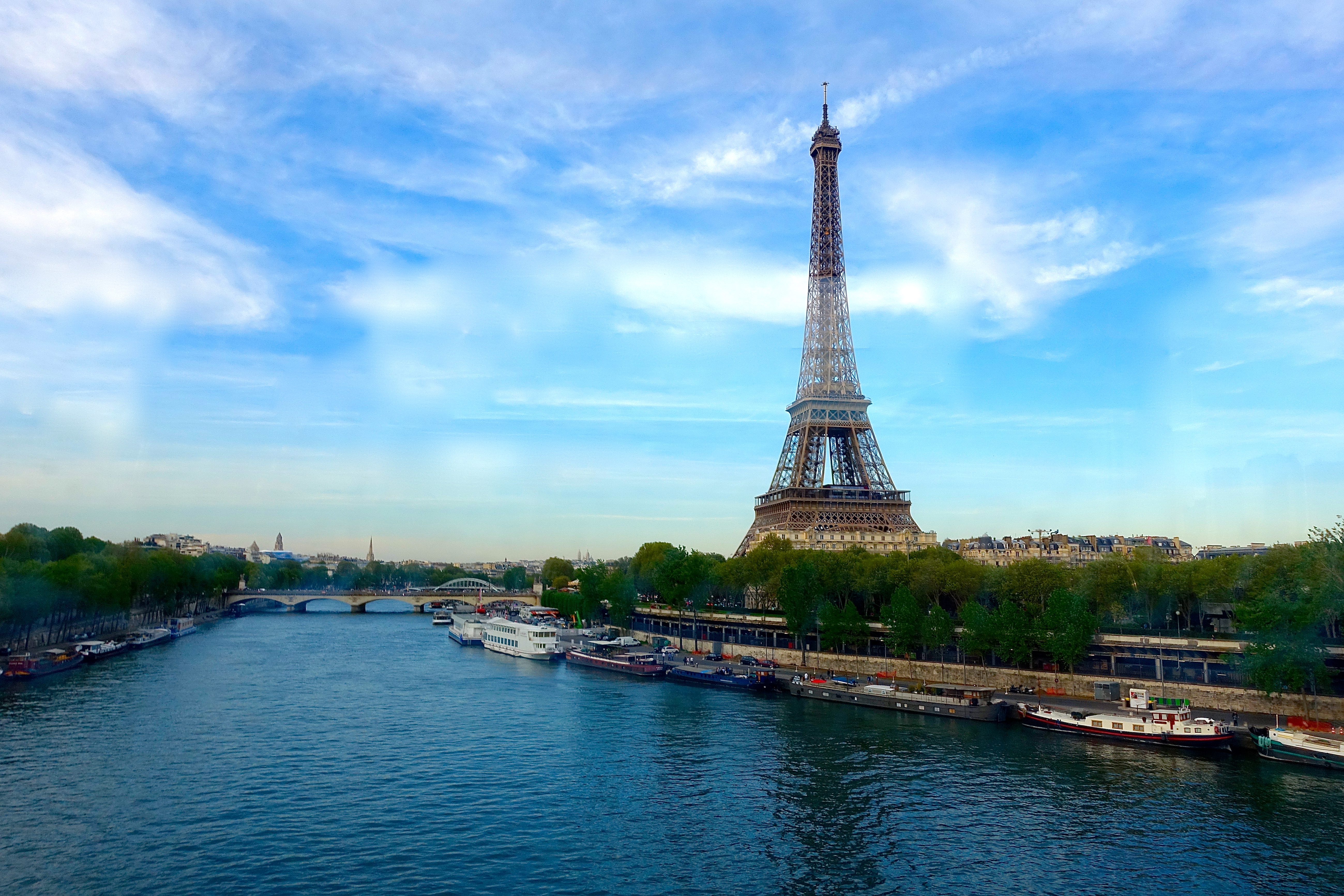 The Seine River and the Eiffel TowerJPG