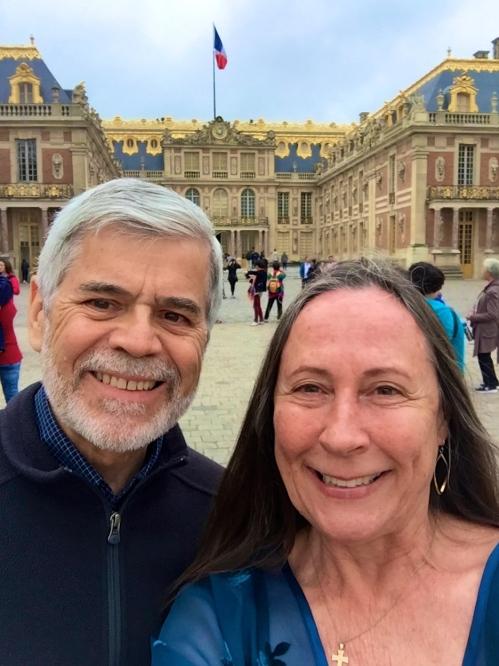 Versailles. Outside