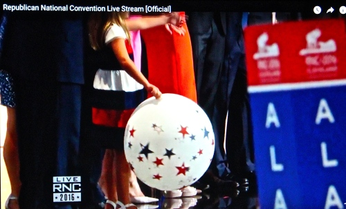 Balloon at Republican National Convention
