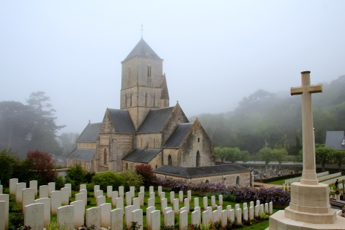 British Military Cemetery in Étretat.