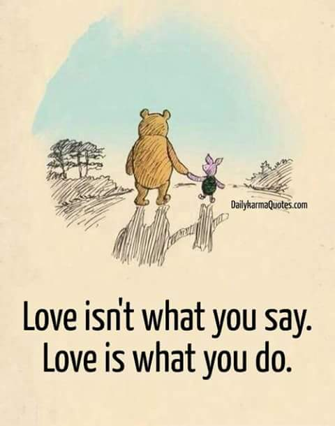 Love Quote by Piglet