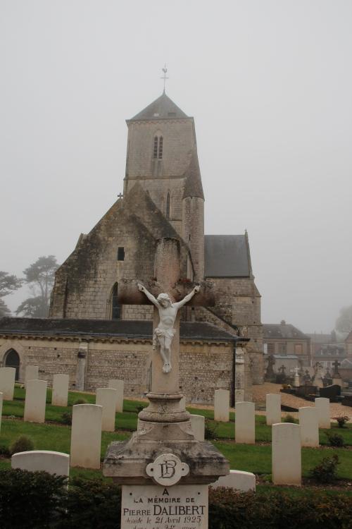 Notre Dame Church in Étretat.