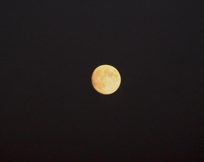 Full Moon Black Sky