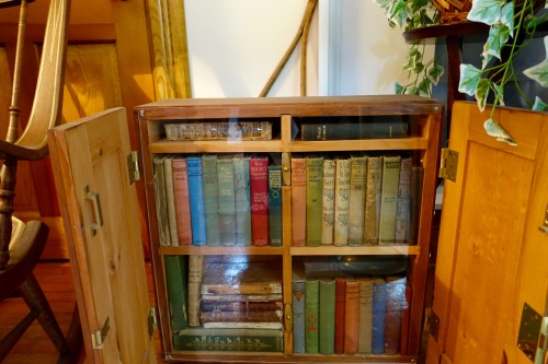 Library in Grand Traverse Lighthouse Museum