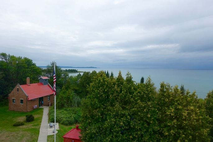 View from Grand Traverse Lighthouse