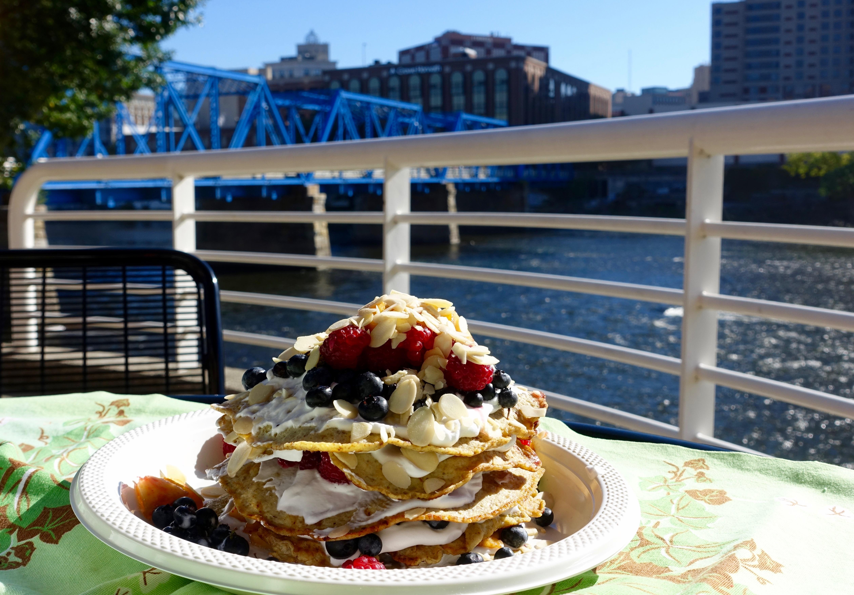 banana-egg-pancakes-with-fruit