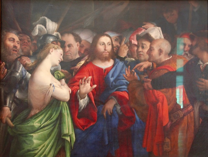 lorenzo-lotto-venice-1480-the-woman-caught-in-adultery-louvre