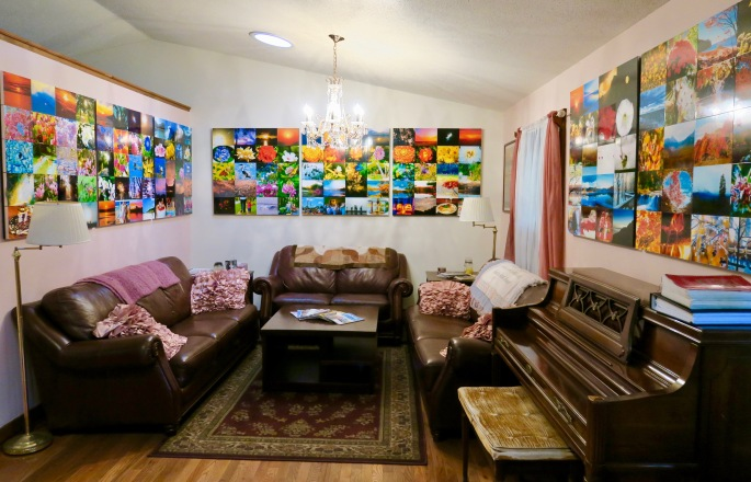 hanging-collages-at-home