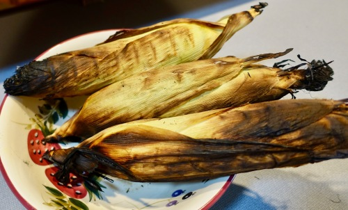 roasted-corn-in-husks