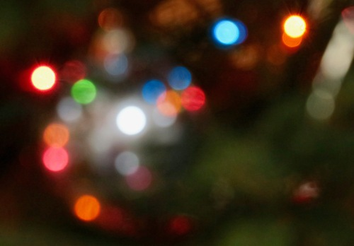 a-blur-of-christmas-ornament-lights